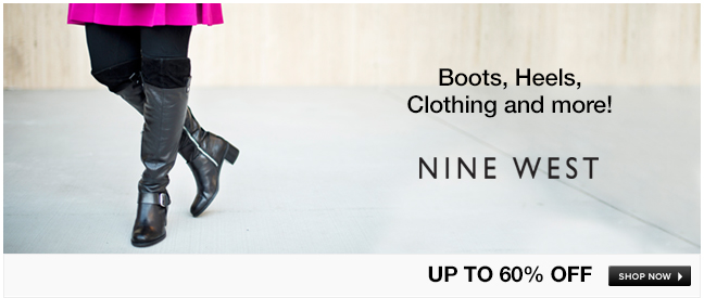 Nine West Boots, Heels and More