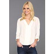 Joie Marru 3/4 Sleeve Silk Top