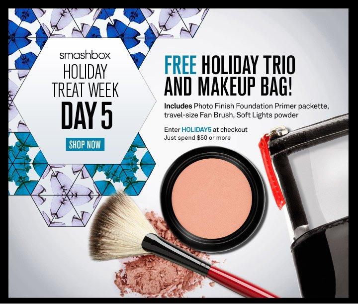 Smashbox Holiday Treat Week - Day 5