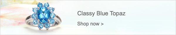 Classy Blue Topaz