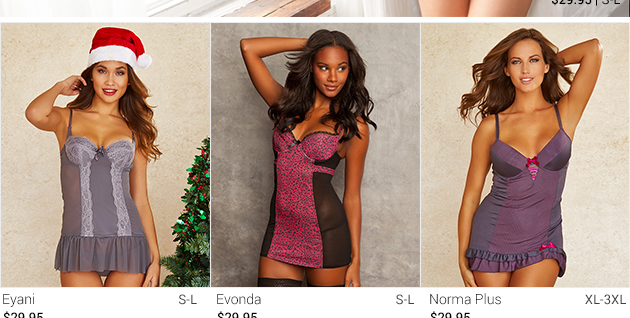 See lingerie from Very Merry collection