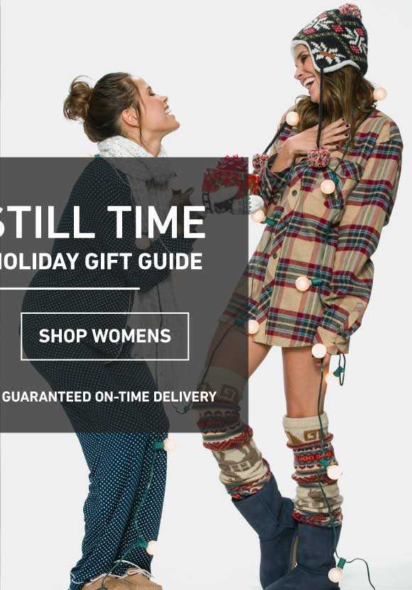 There's Still Time! Shop The Women's Holiday Gift Guide