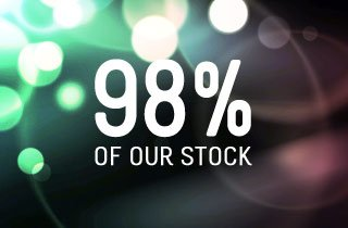 98% of our stock