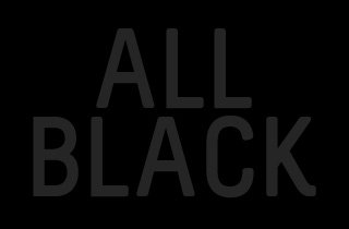 Black Magic: All Black Sale