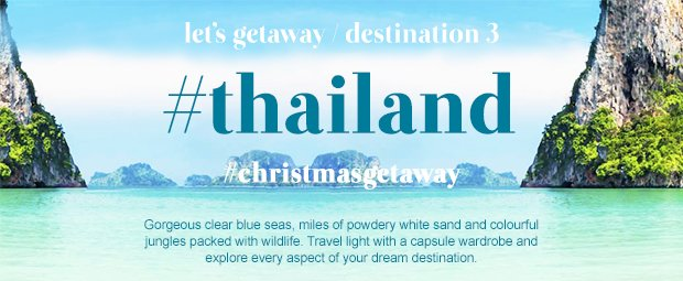 Let's Getaway | Destination Thailand