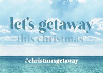 Let's Getaway This Chrismas | Whisk Me Away