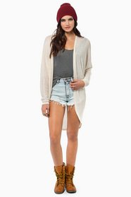 Frances Open Cardigan