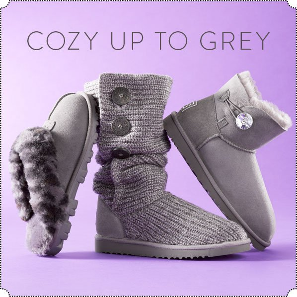 COZY UP TO GREY
