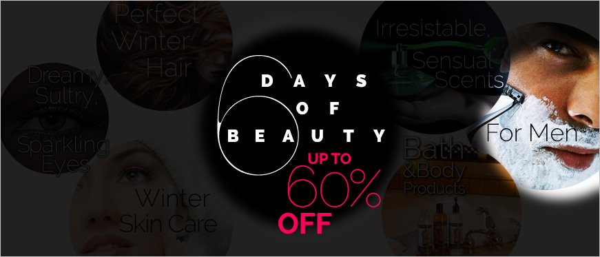 6 Days of Beauty: Men Need Grooming.  Up to 60% Off Men's Products