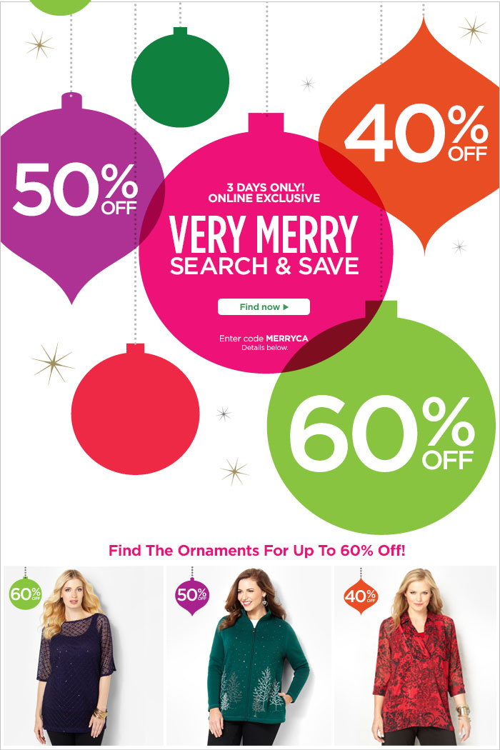 Very Merry Search & Save Sale!