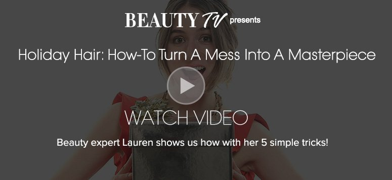Beauty TV Daily VideoHow to Keep Your Skin Gorgeous on an AirplaneBeauty expert Lauren shows us how with her 5 simple tricks—and everything is TSA approved!Watch Video>>