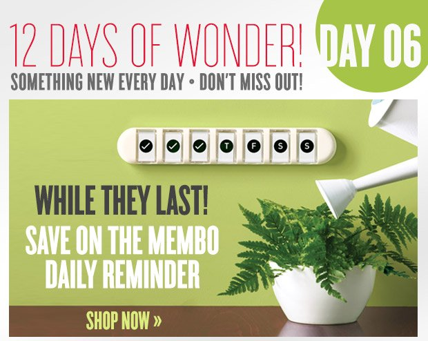 12 Days of Wonder! - WHILE THEY LAST! Save on this Stocking Stuffer