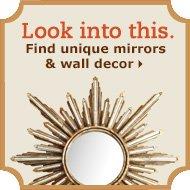 Find unique mirrors & wall decor