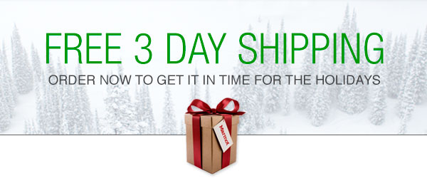 FREE 3 DAY SHIPPING: Order now to get it in time for the holidays