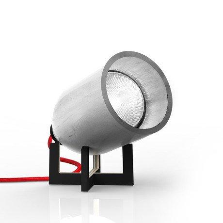 Spotlight Table Lamp // Dark Grey // Black Stand