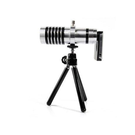 Pack Aluminium ZOOMX14 iPhone Lens & Tripod