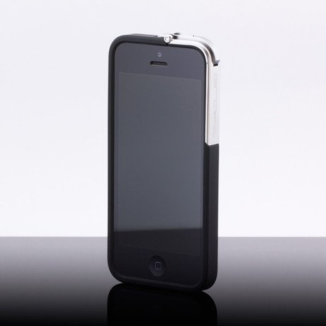 Leverage Case for iPhone 5/5S // Black, Matte