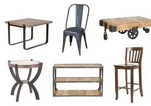 Industrial Intrigue: Furniture & Décor
