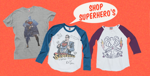 Shop Superhero's