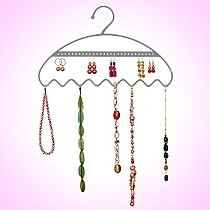 Wardrobe Jewellery Hanger