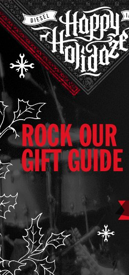 HAPPY HOLIDAZE.  ROCK OUR GIFT GUIDE.