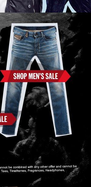 SHOP MEN'S SALE.