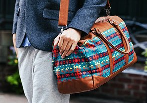 Shop Tribal Print Bags & More Under $65