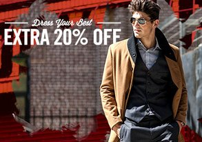 Shop Dress Your Best: Extra 20% Off