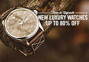Shop NEW Luxury Watches up to 80% Off