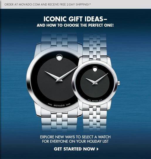 ICONIC GIFT IDEAS - AND HOW TO COOSE THE PERFECT ONE! - GET STARTED NOW