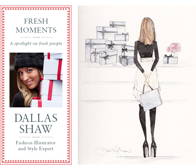 FRESH MOMENTS - A SPOTLIGHT ON FRESH PEOPLE: DALLAS SHAW