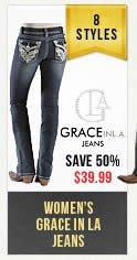 Womens Grace in LA Jeans