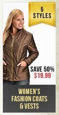 Womens Fashion Coats and Vests
