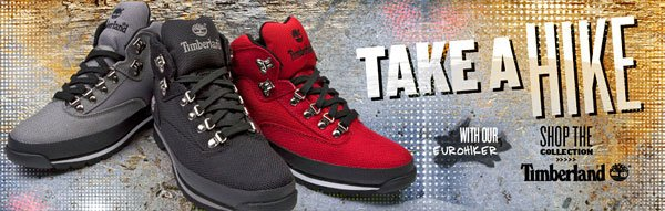 Take a Hike! Shop Timberland!