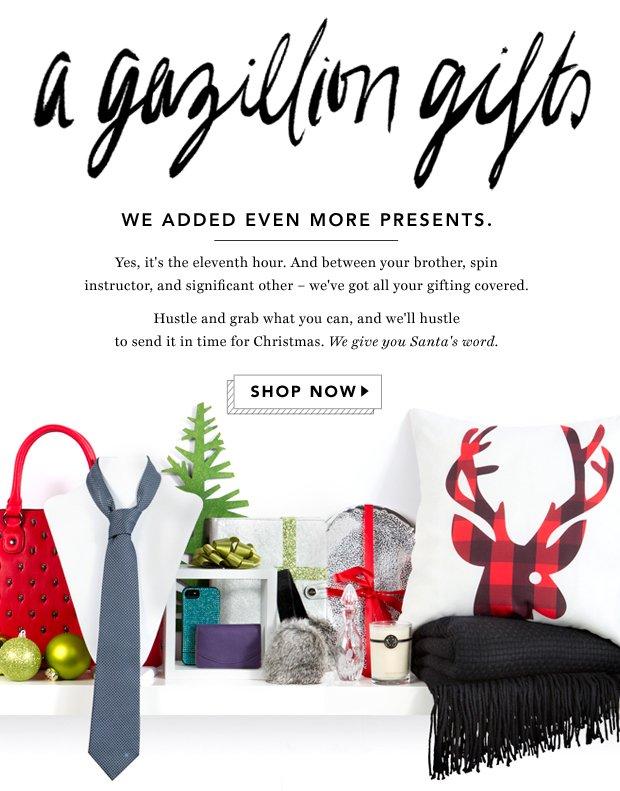 A Gazillion Gifts