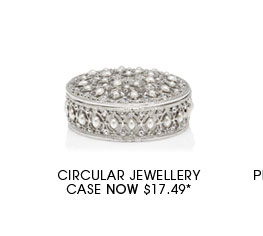 Circular Jewellery Case