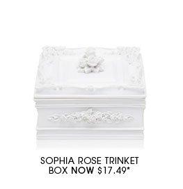 Sophia Rose Trinket Box