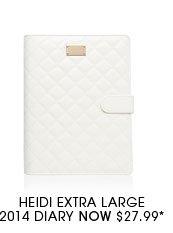 Heidi Extra Large 2014 Diary