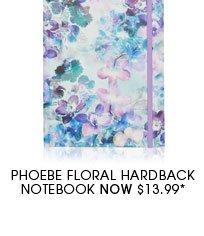 Phoebe Floral Hardback Notebook