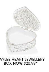 Haylee Heart Jewellery Box