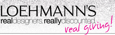 LOEHMANN'S  real designers. really discounted.