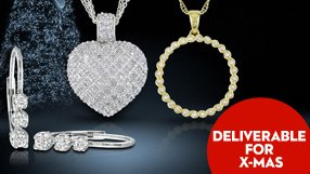 Diamond Pendant and Earring sets