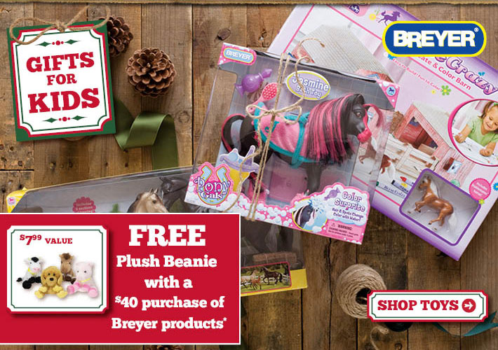Free Plush Beanie With A $40 Purchase Of Breyer Products