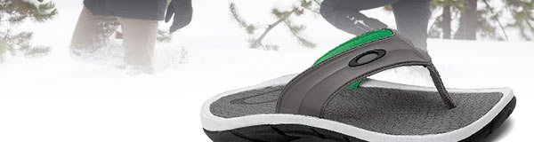 Holiday Deals - Day 2: Oakley Supercoil Flip Flops - Men's