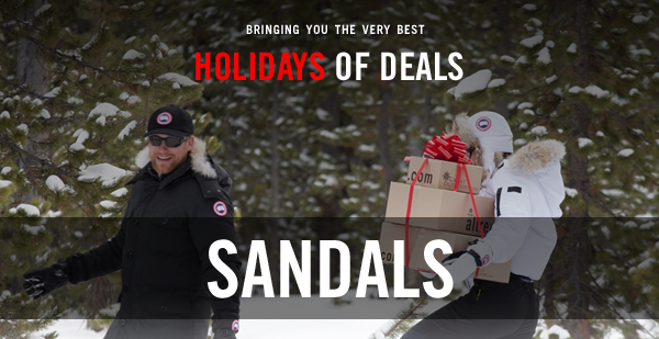Holiday Deals - Day 2: Sandals