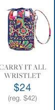Carry It All Wristlet $24 (reg. $42)