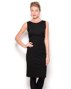 Bencivenga Wool Blend Sleeveless Dress - Made in Italy