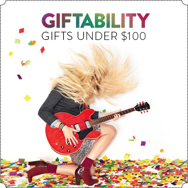 GIFTABILITY - GIFTS UNDER $100