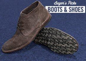 Shop Buyers' Picks: Boots & Shoes