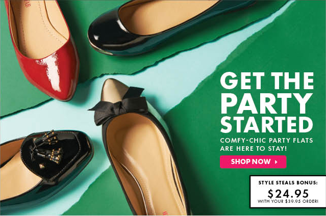 Get Any JustFab Shoe Or Bag for Only $19.95 + Free Shipping - Reg. $39.95 - Shop Now!